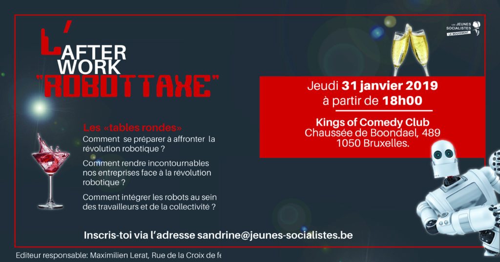 """Afterwork """"Robottaxe"""" @ Kings of Comedy Club"""