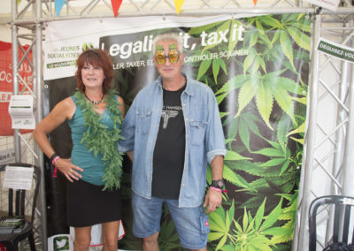 "Août 2017 - FDS: Campagne ""legalize it, tax it!"""